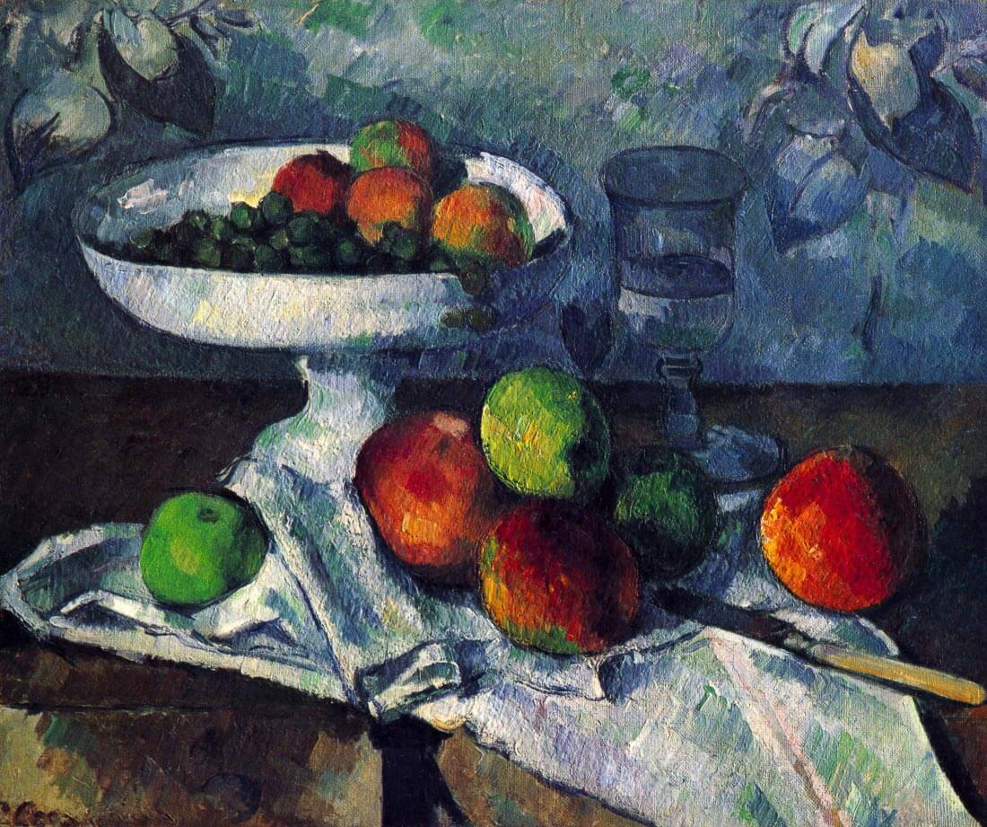 Still Life with Fruit Bowl - Cezanne
