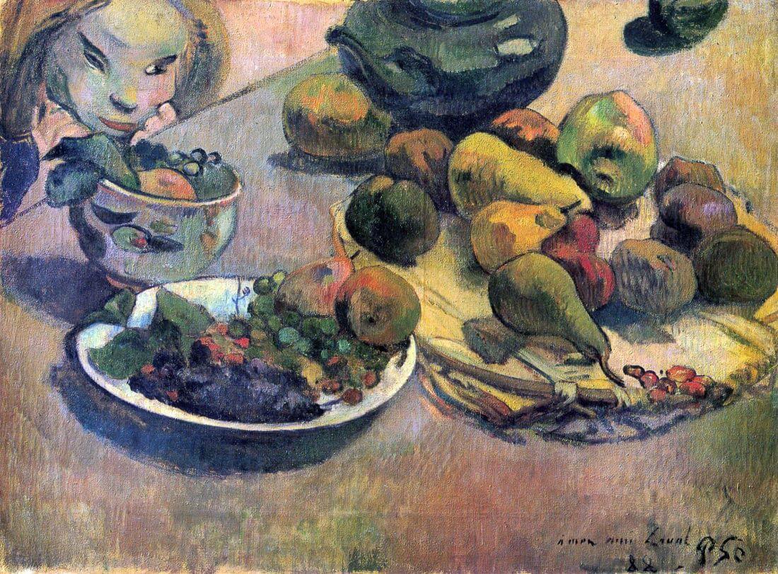 Still Life with Fruit - Gauguin
