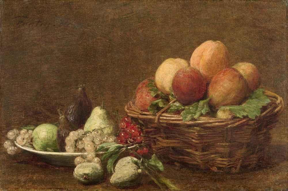 Still Life with Fruit - Henri Fantin-Latour