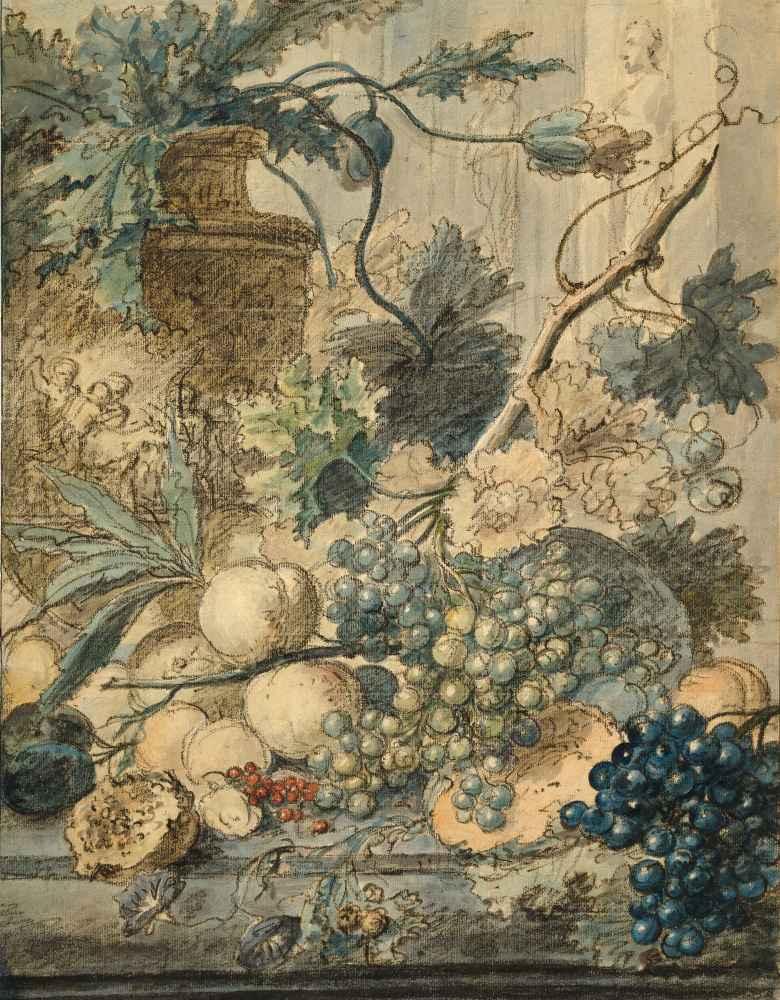 Still Life with Fruit - Jan van Huysum