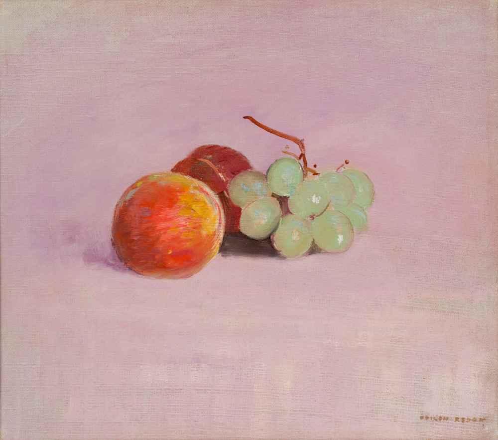 Still Life with Fruit - Odilon Redon