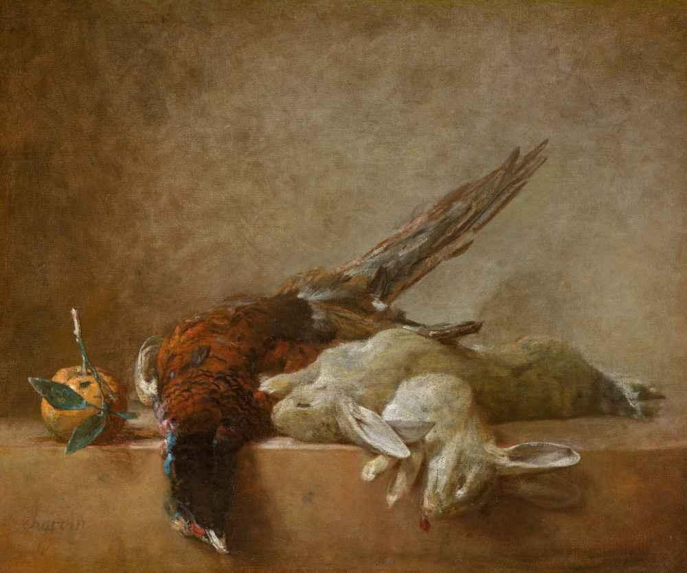 Still Life with Game - Jean Baptiste Simeon Chardin