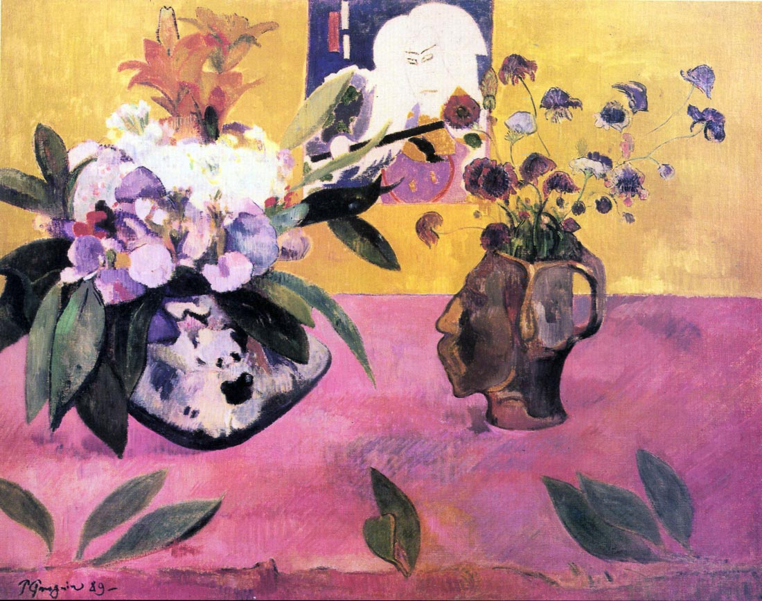 Still Life with Japanese Woodblock - Gauguin