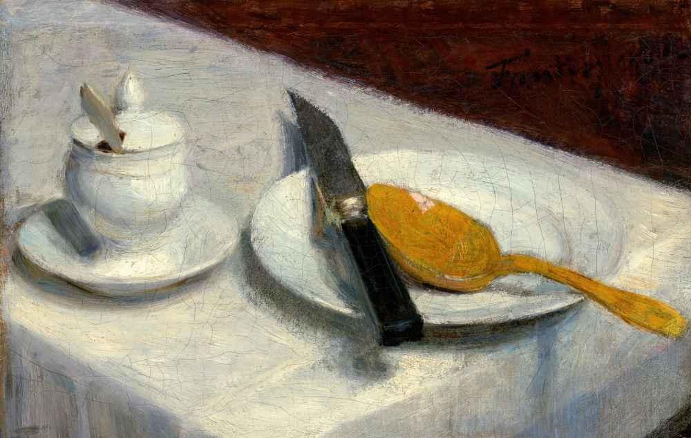 Still Life with Mustard Pot - Henri Fantin-Latour