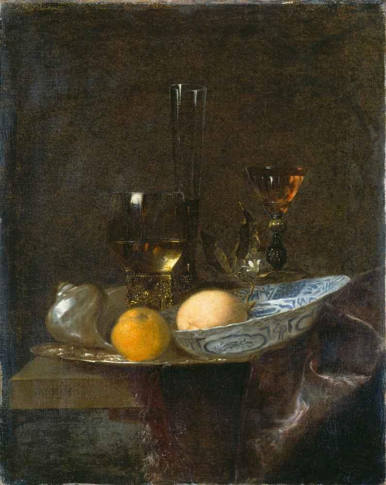 Still Life with Oranges - Willem Kalf
