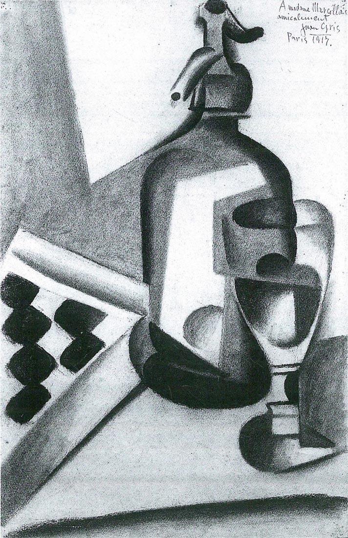 Still Life with Siphon - Juan Gris