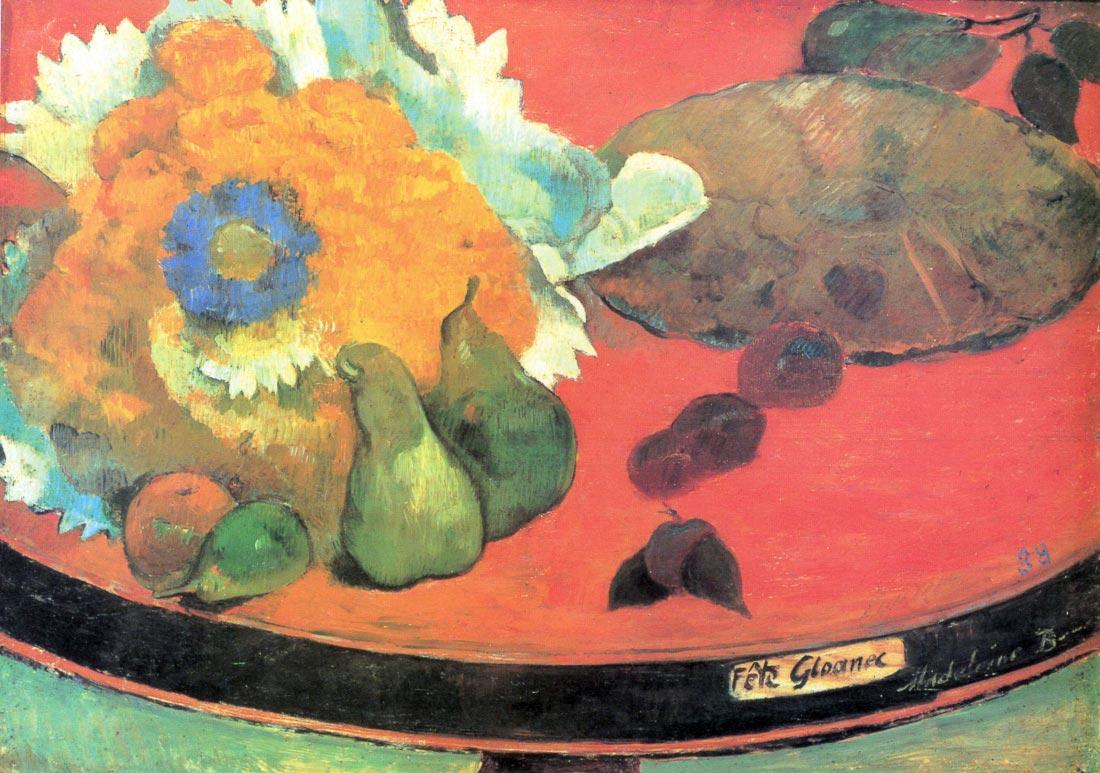 Still Life with fete - Gauguin