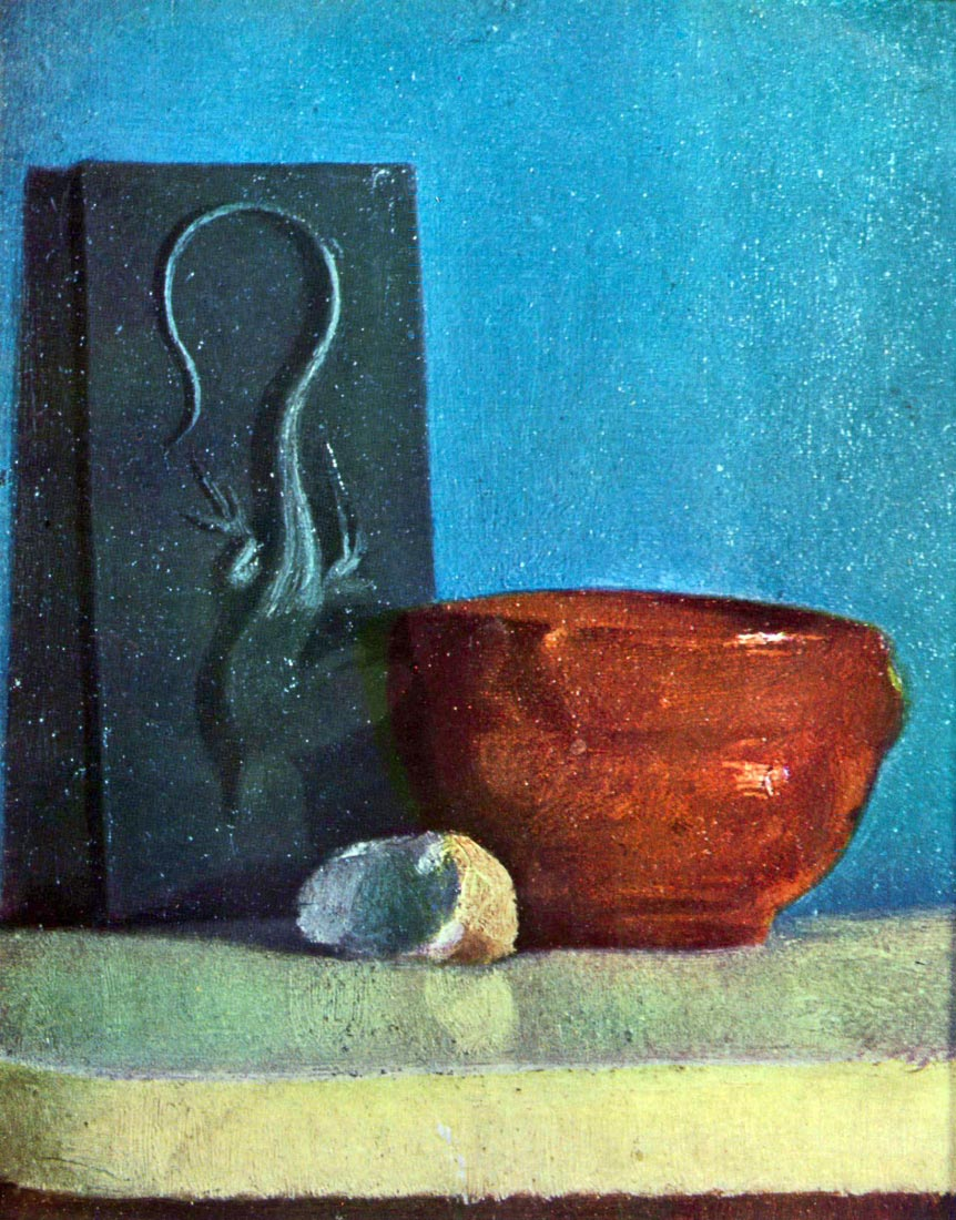 Still Life with lizard - Degas