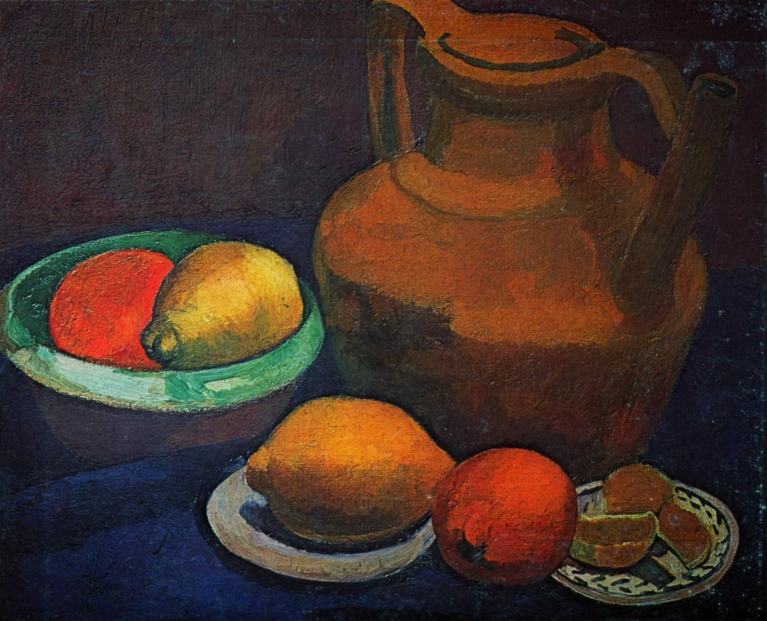 Still Life with tank - Modersohn-Becker