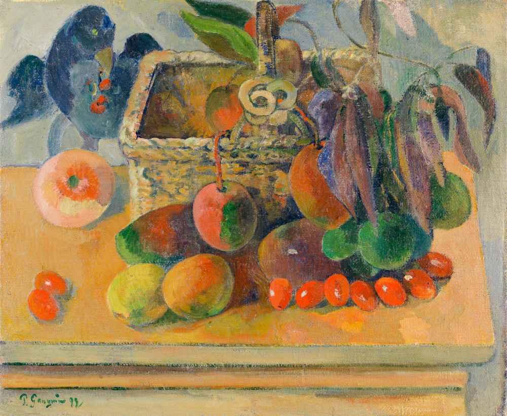 Still life 2 - Paul Gauguin