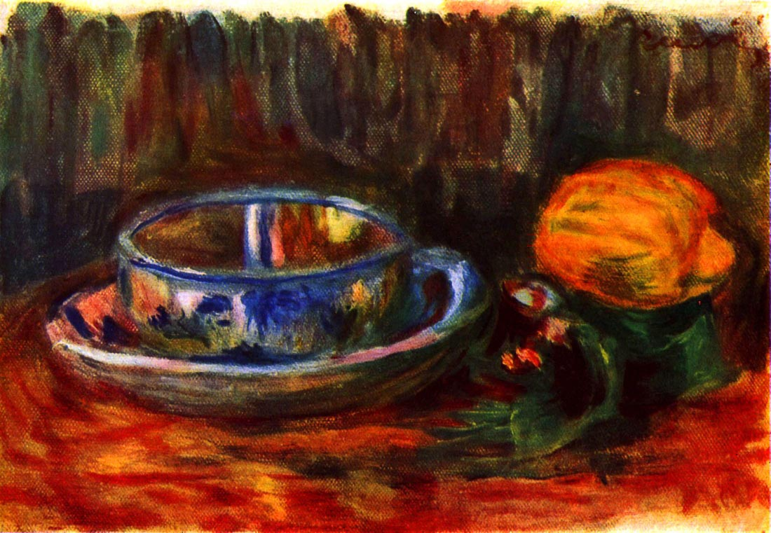 Still life with cup - Renoir