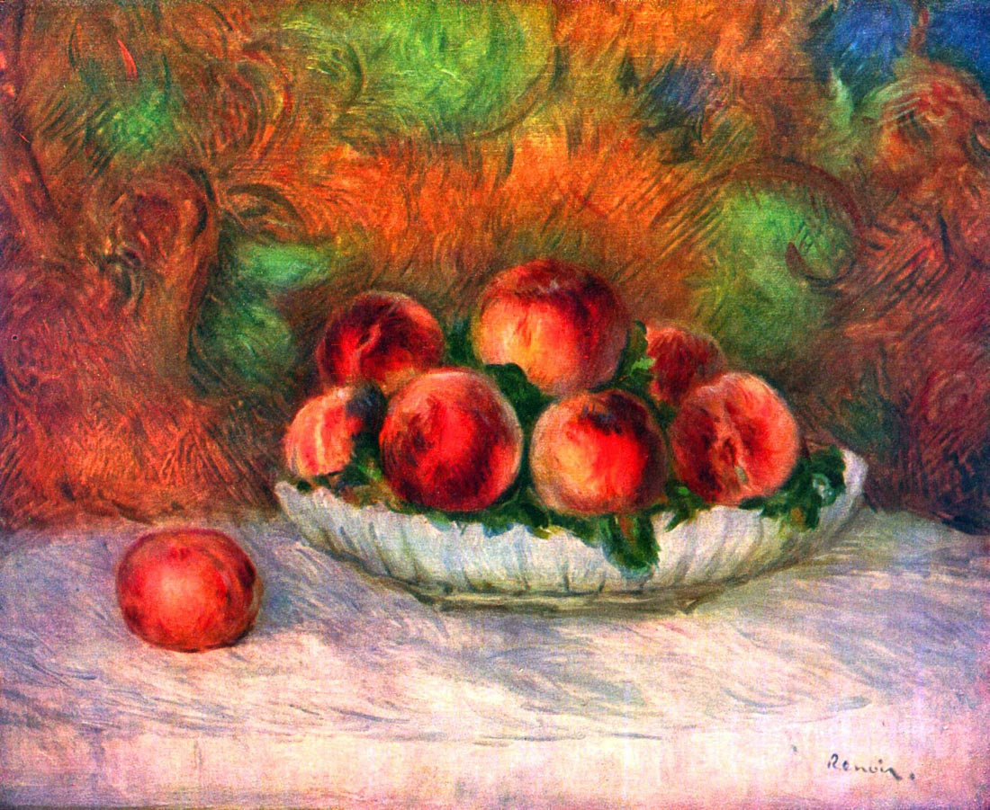 Still life with fruits - Renoir