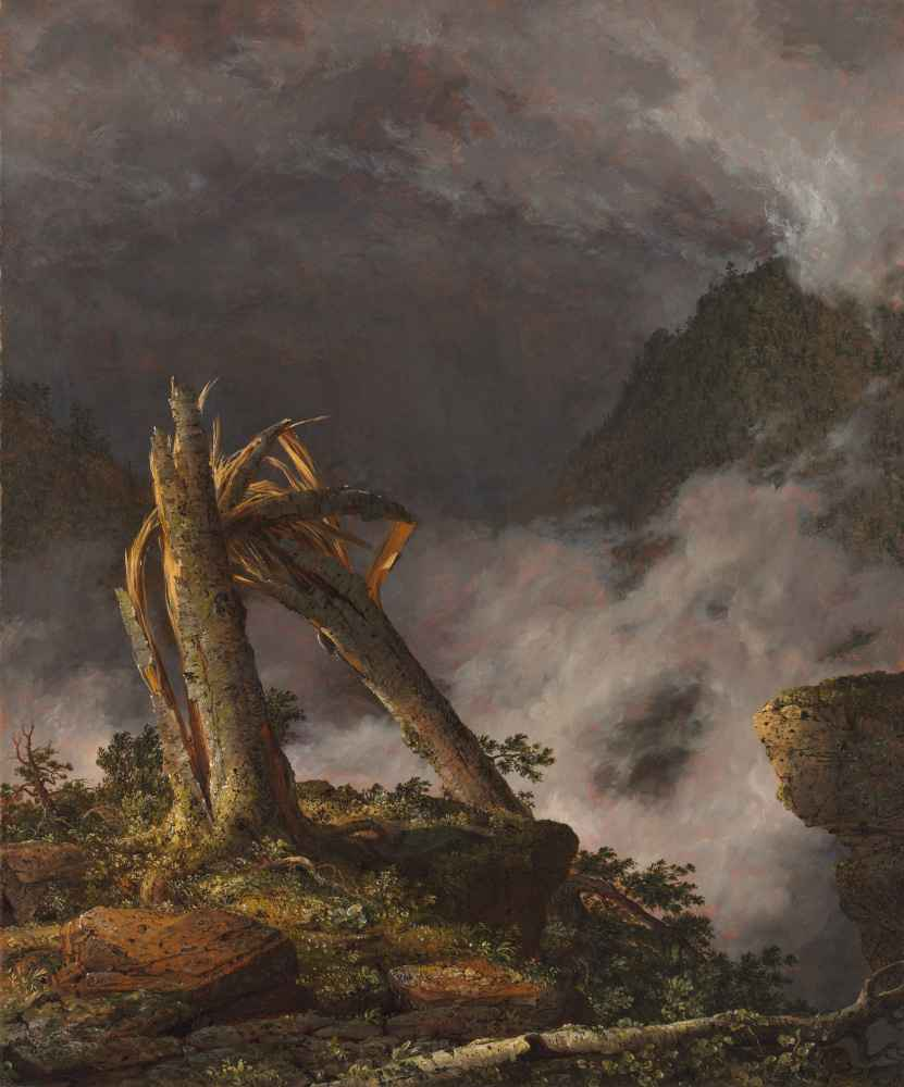 Storm in the Mountains - Frederic Edwin Church