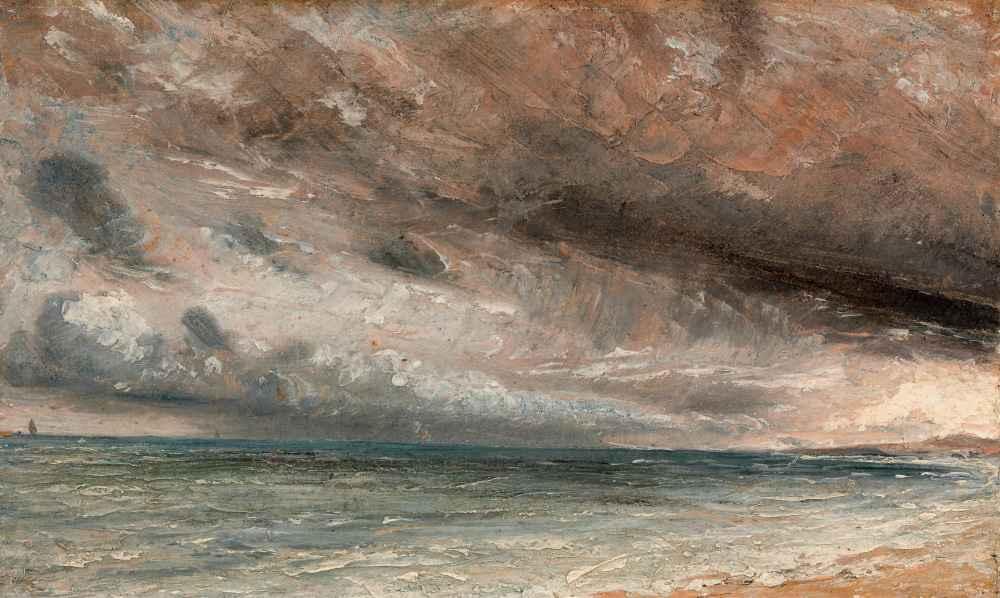 Stormy Sea, Brighton - John Constable