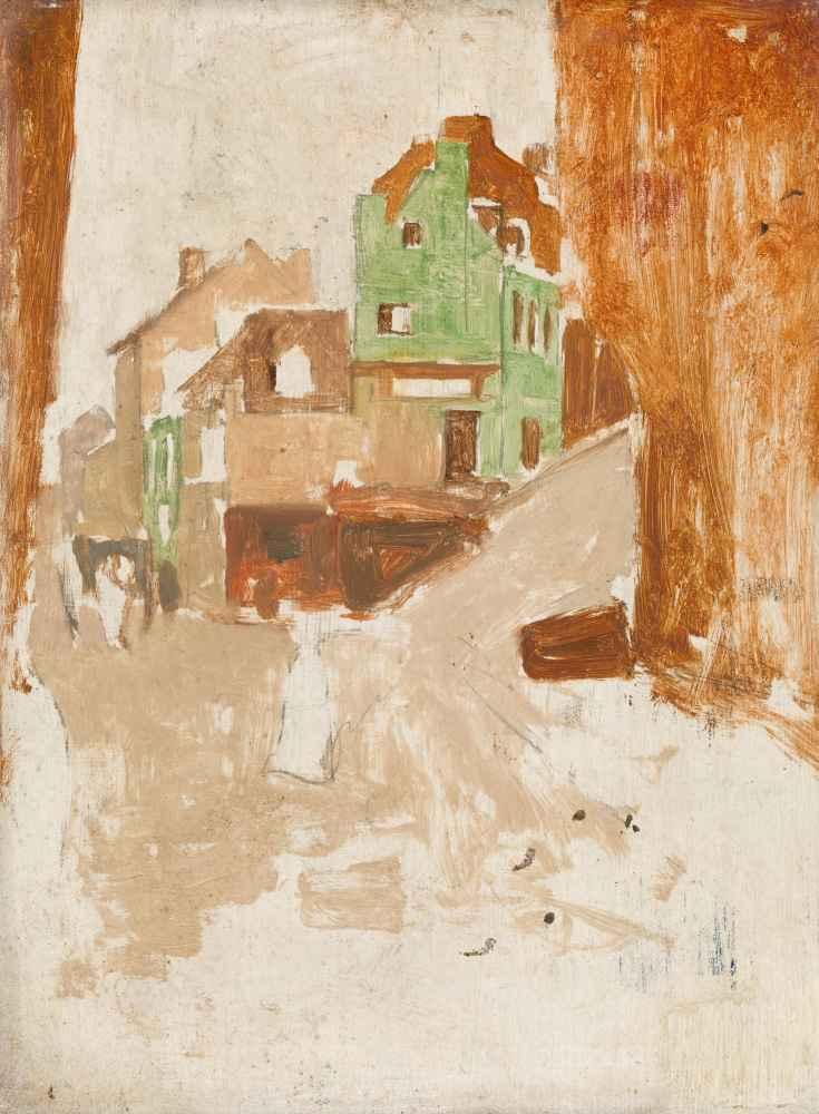 Street in Montmartre, Paris - George Hendrik Breitner