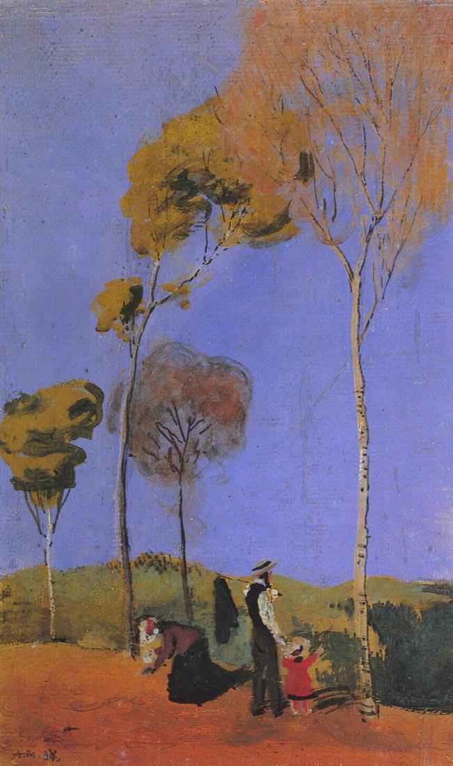 Stroller - August Macke