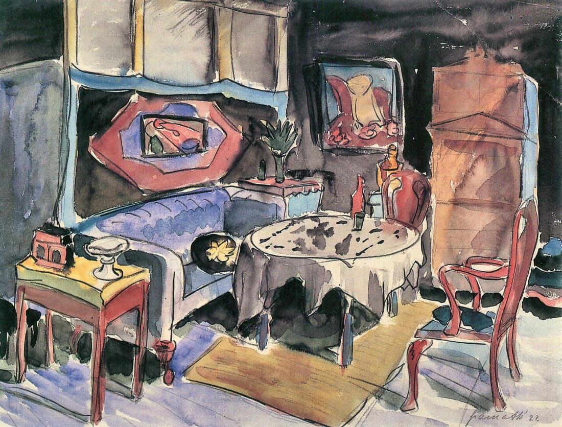 Studio Cover - Walter Gramatte
