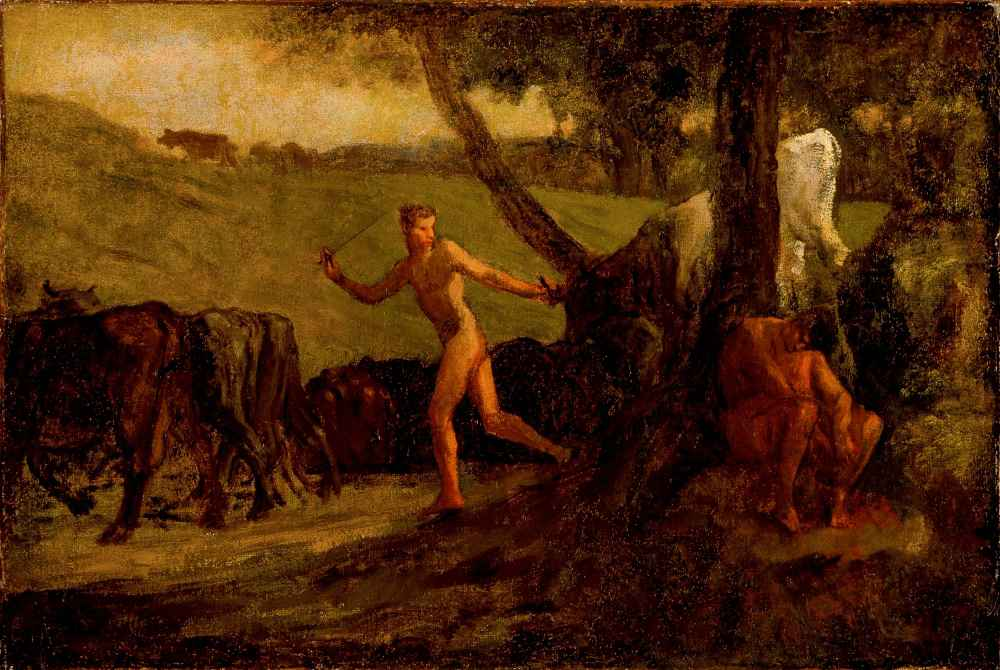 Study for Mercury Leading the Cows of Argus to Water - Jean Francois M