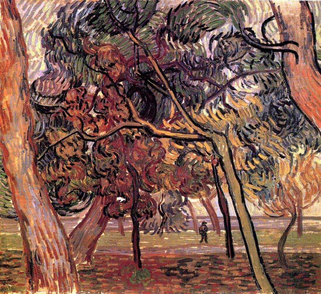 Study of Pine Trees - Van Gogh