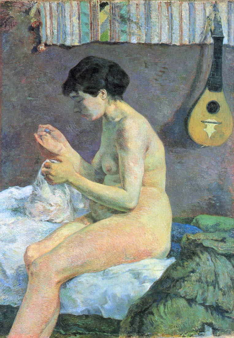 Study of a Nude - Gauguin
