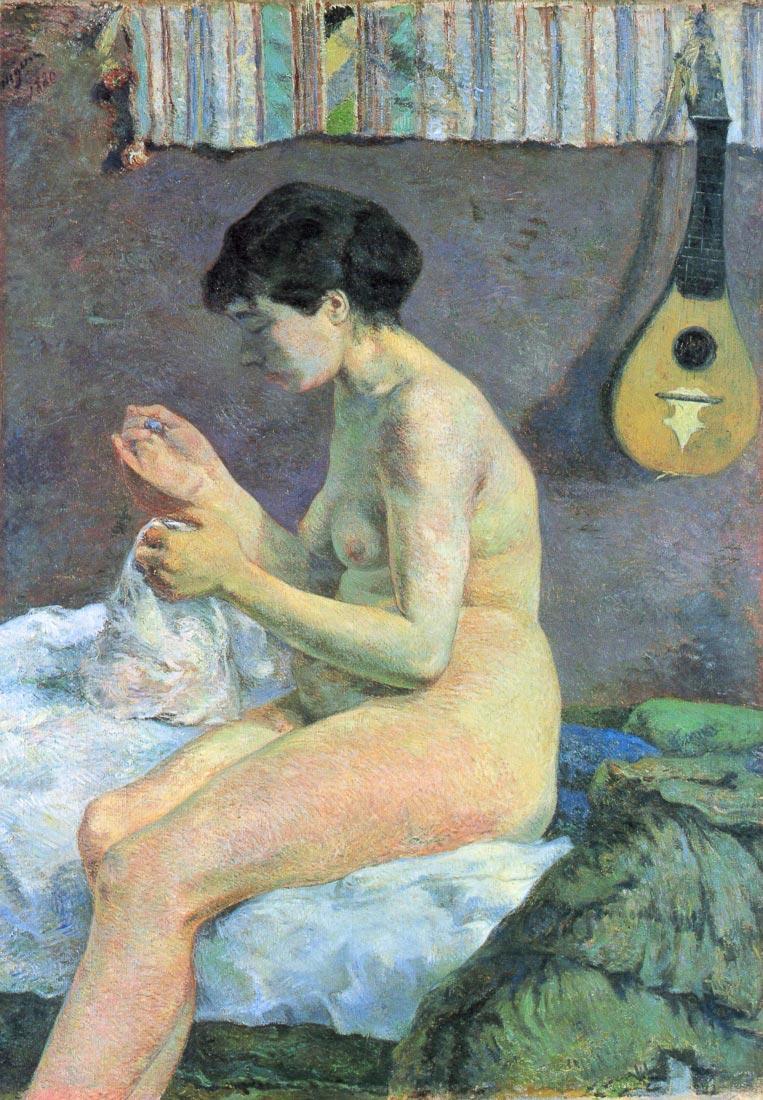 Study of a Nude - Gauguin