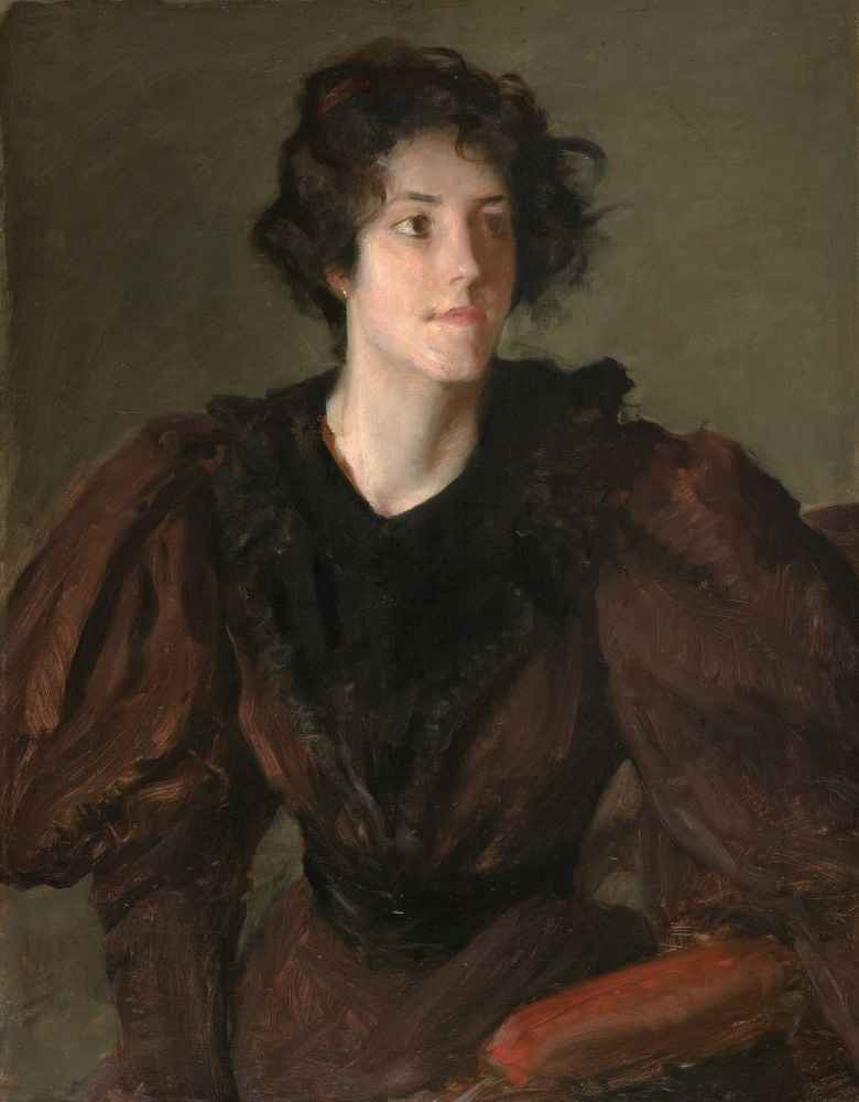 Study of a Young Woman - William Merritt Chase