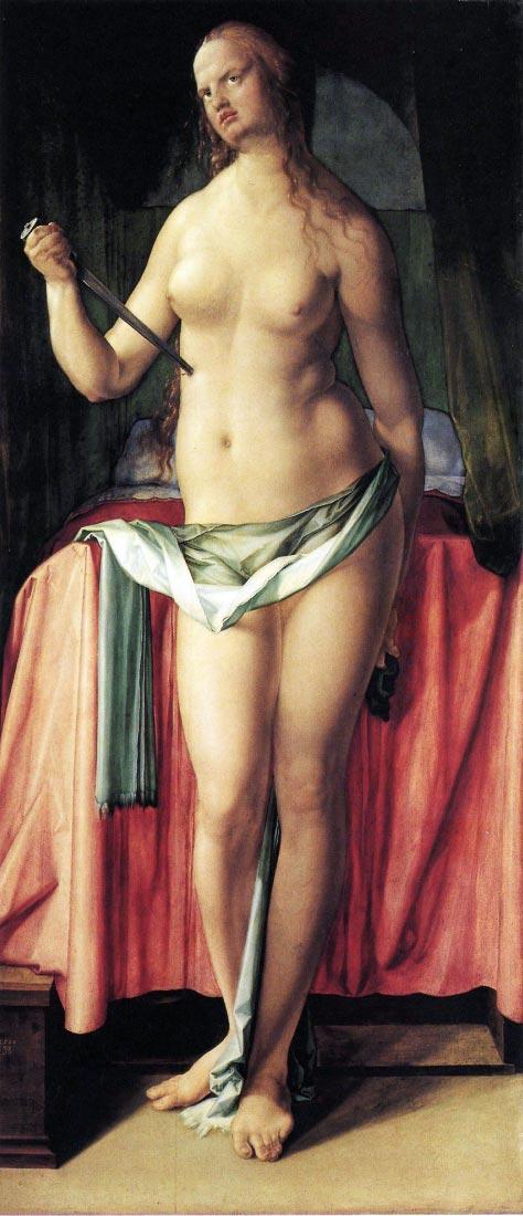 Suicide of Lucretia - Durer
