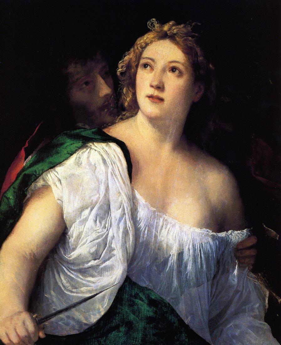Suicide of Lucretia - Titian