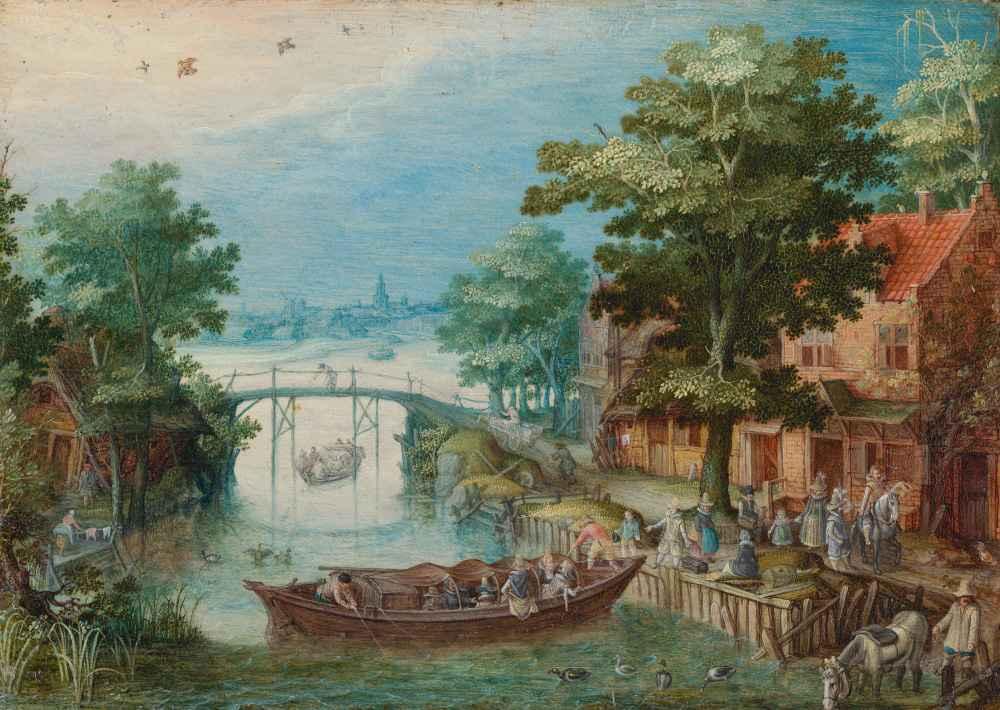 Summer Landscape, c. 1615 - 1620 - Christoffel van den Berghe