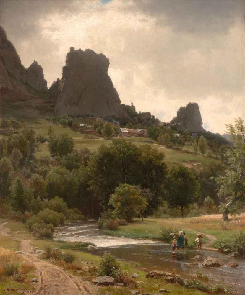 Summer Pastorale (View of Kallenfels) - Worthington Whittredge