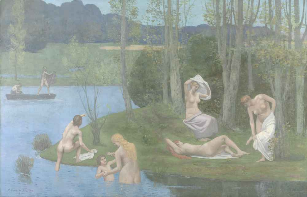 Summer - Pierre Puvis de Chavannes