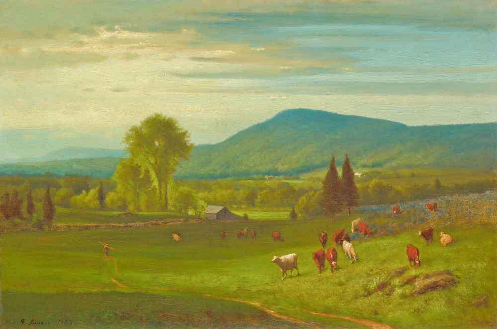 Summer in the Catskills - George Inness