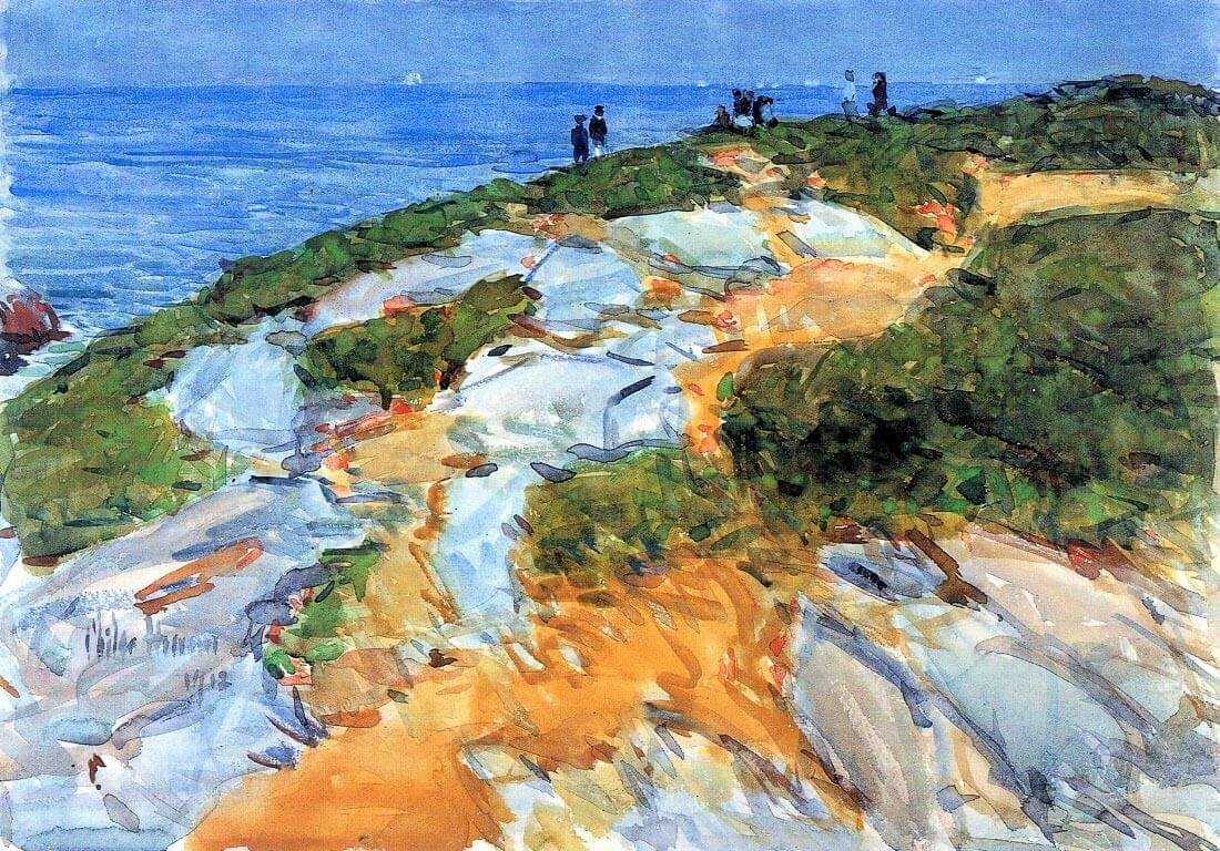 Sunday morning, Appledore - Hassam