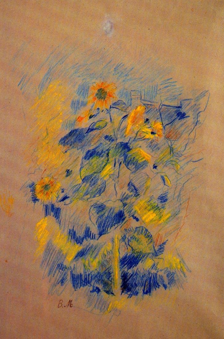 Sunflowers - Morisot