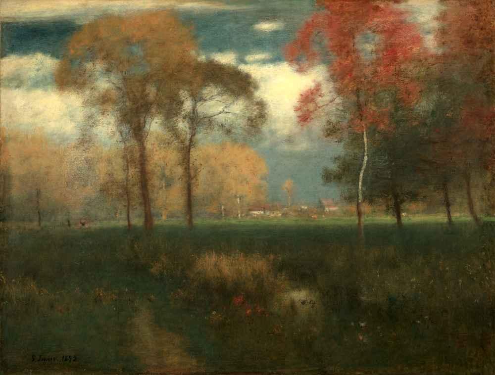 Sunny Autumn Day - George Inness
