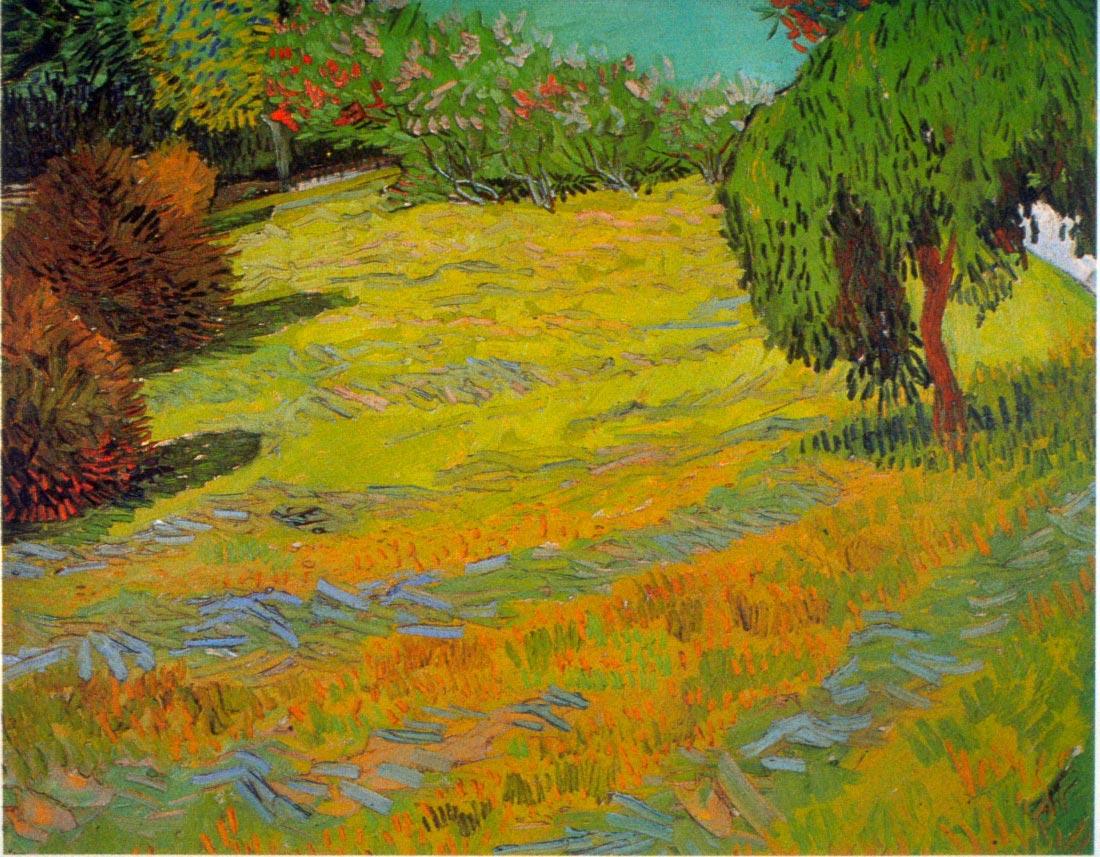 Sunny Lawn - Van Gogh