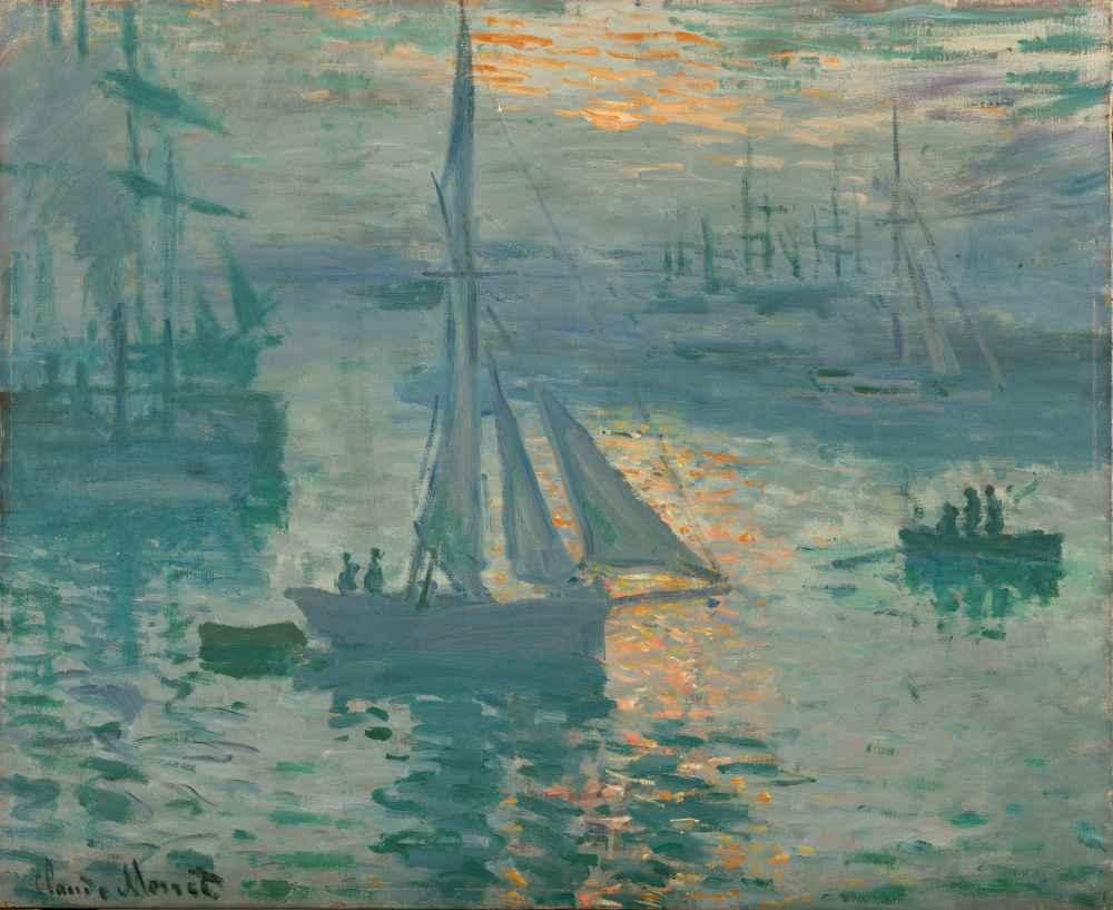 Sunrise (Marine) - Claude Monet