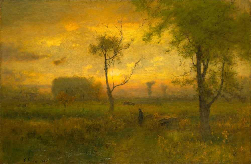 Sunrise - George Inness