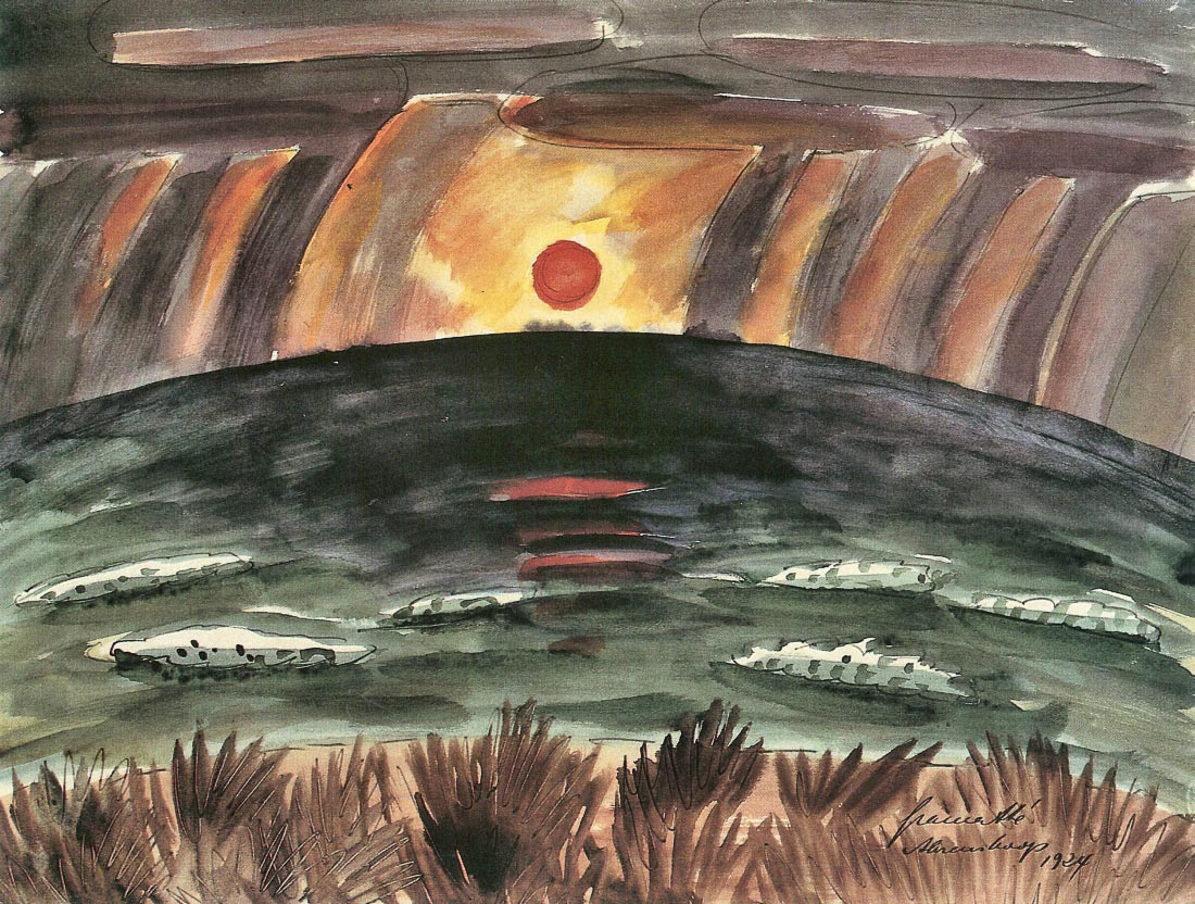 Sunset - Walter Gramatte