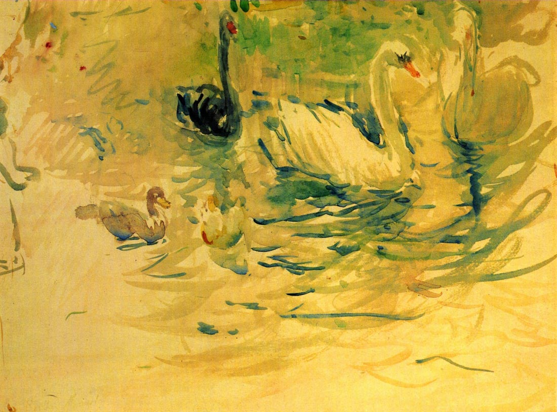Swans - Morisot