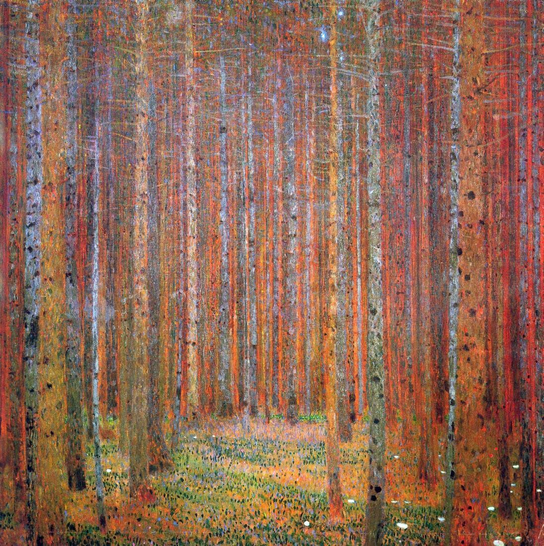 Tannenwald I - Klimt