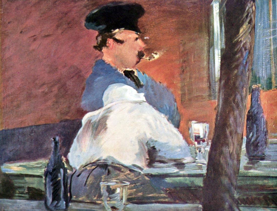 Tavern - Manet