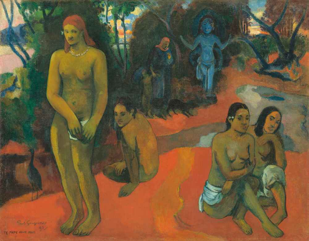 Te Pape Nave Nave (Delectable Waters), 1898 - Paul Gauguin