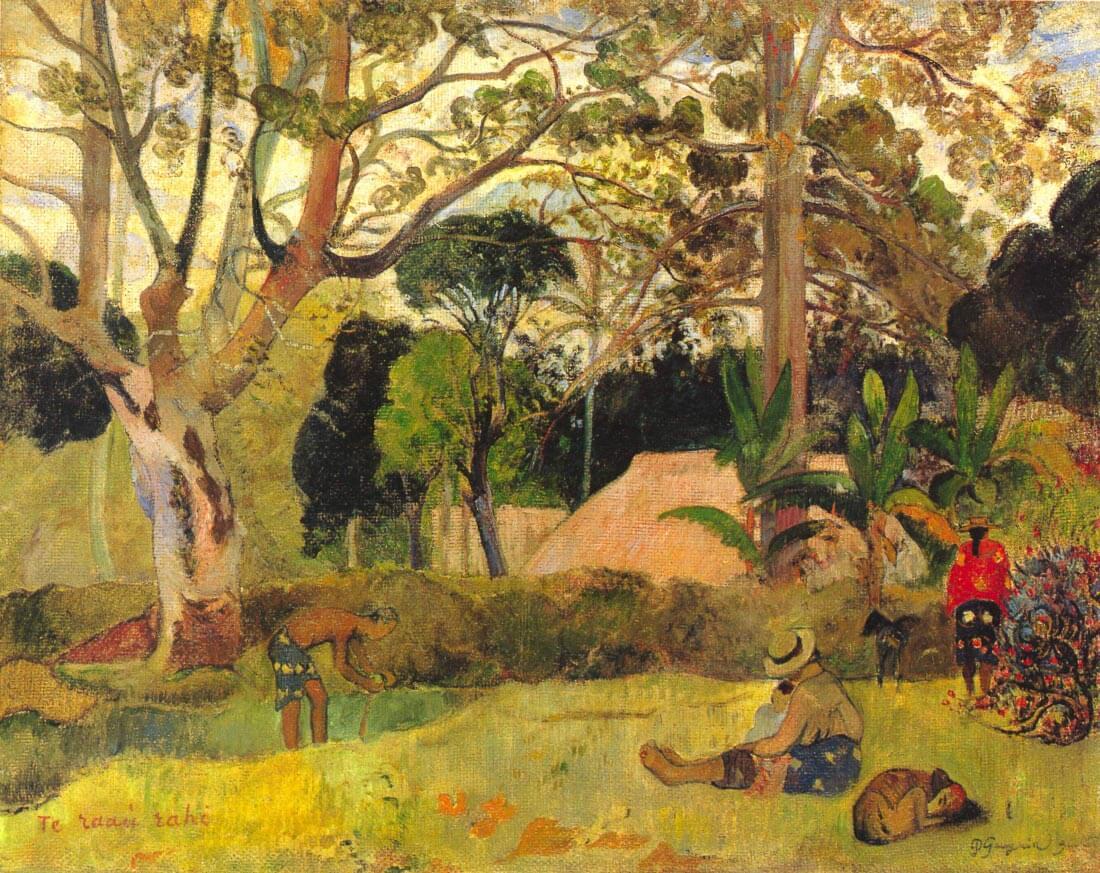 Te Raai Rahi - Gauguin