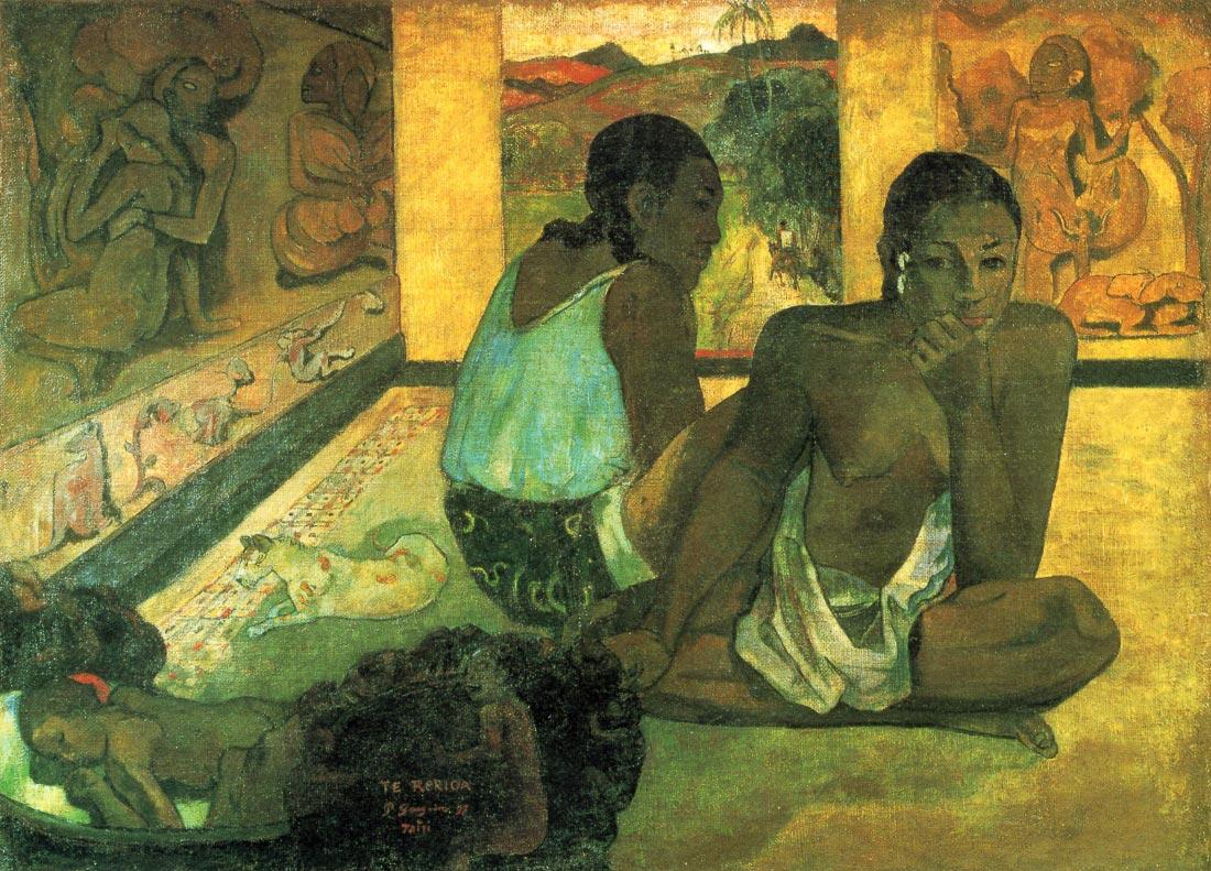 Te Rerioa - Gauguin