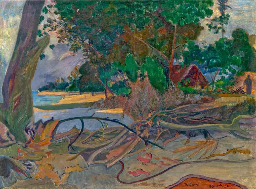 Te burao (The Hibiscus Tree) - Paul Gauguin