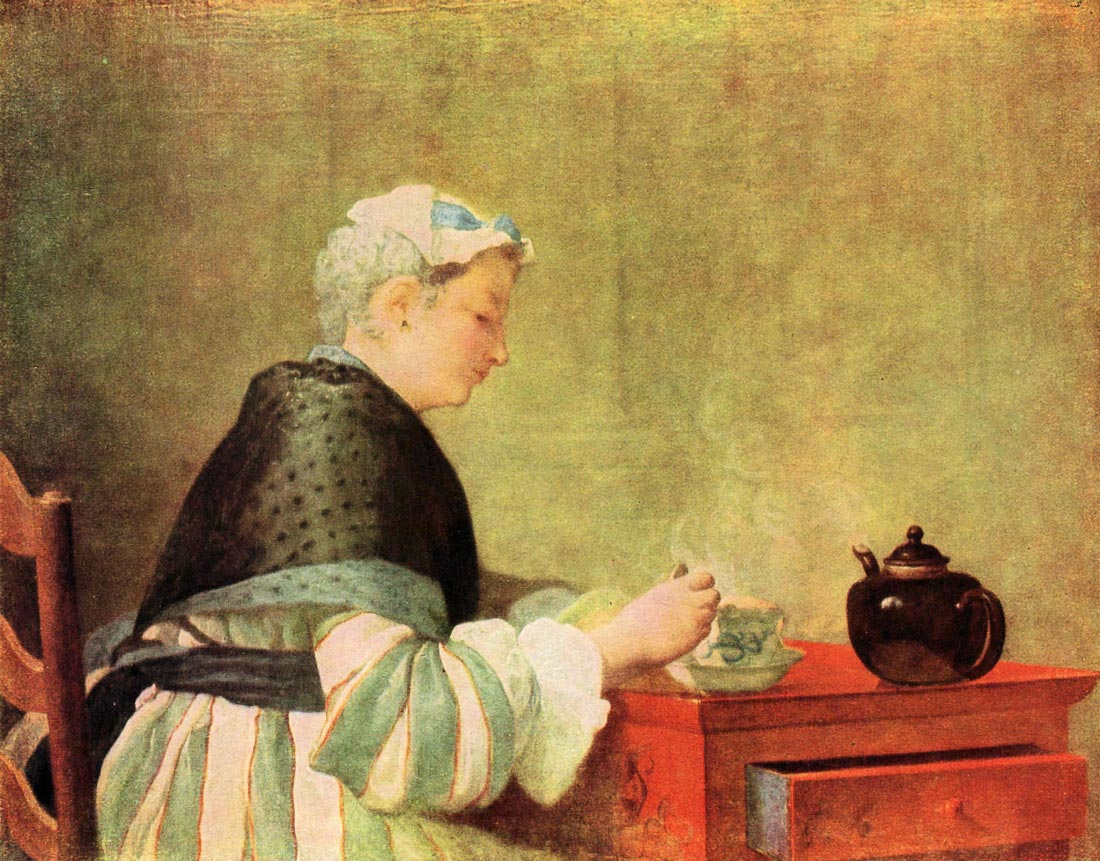 Tea Drinker - Jean Chardin