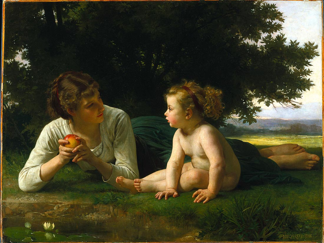 Temptation - Bouguereau