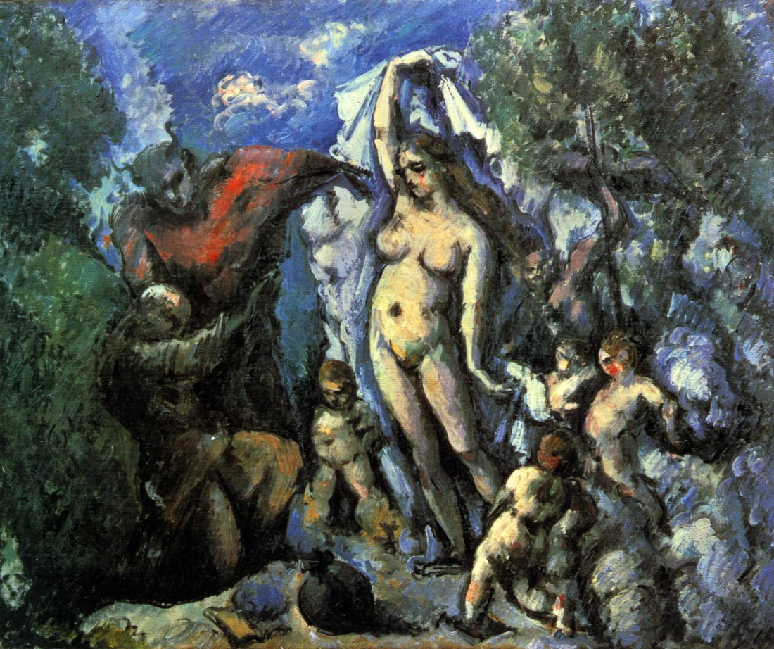 Temptation of St. Anthony - Cezanne