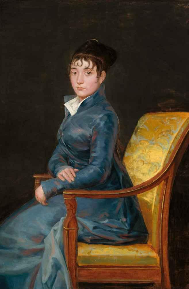 Thérèse Louise de Sureda - Francisco Goya